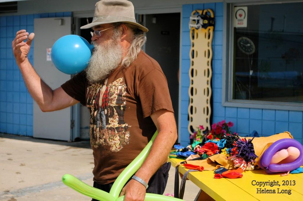 Wilkie's balloon man