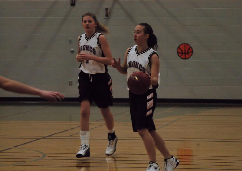Wilkie girls' basketball