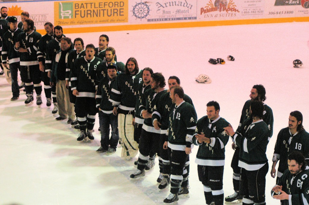 Wilkie SK Outlaws, 2014 Provincial Champions