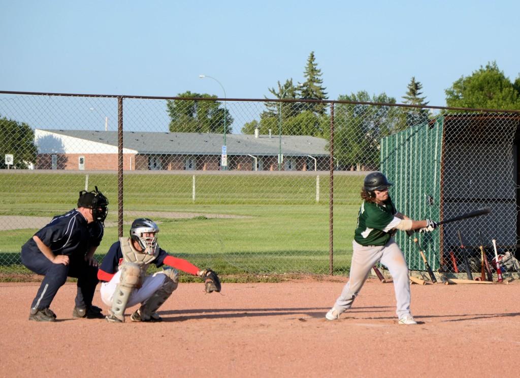 batter hits