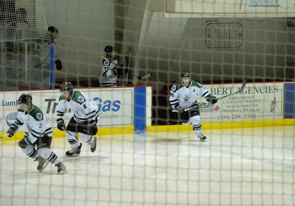 Wilkie Outlaws senior men's hockey