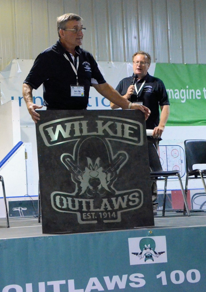 Wilkie Outlaws 100th - Gerry Cey and Kevin Waugh