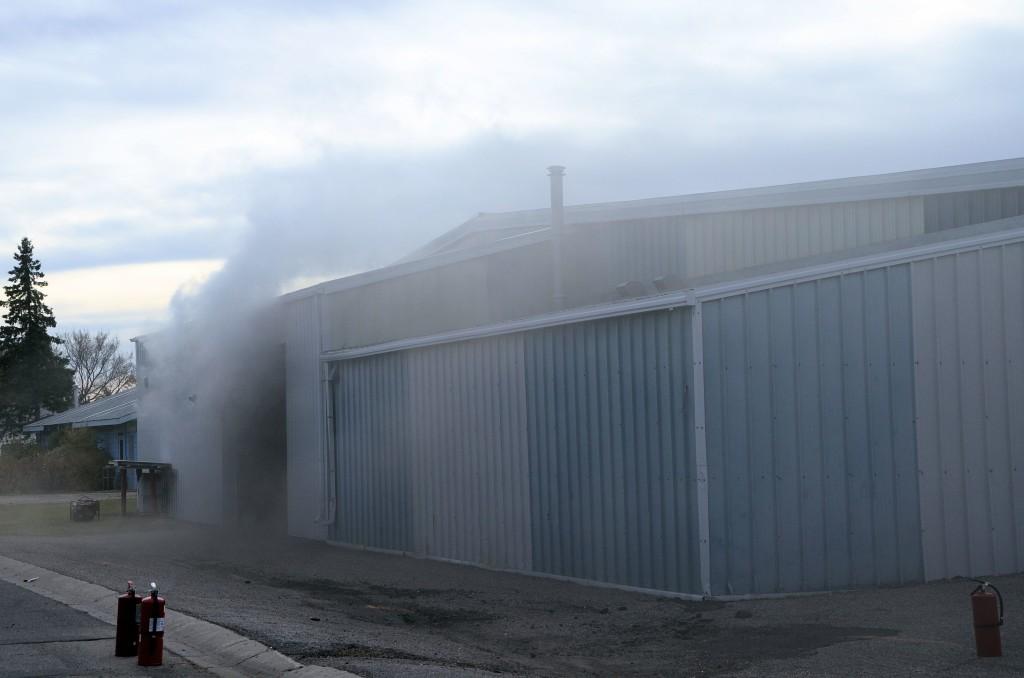 arena smoke